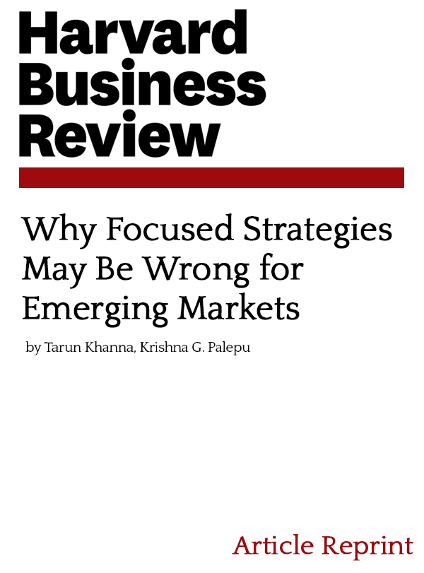 Why Focused Strategies May Be Wrong for Emerging Markets